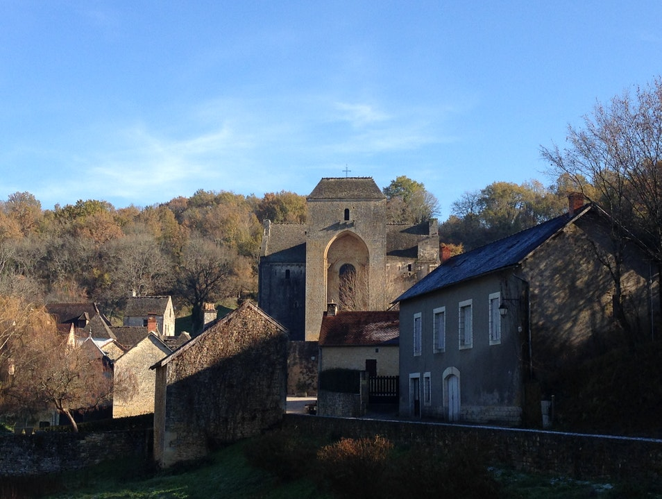 Walking back in the Middle Ages in Saint Amand de Coly Saint Amand De Coly  France