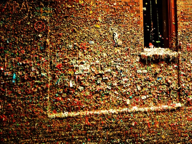 Gum Wall, Pike Place Market, Seattle