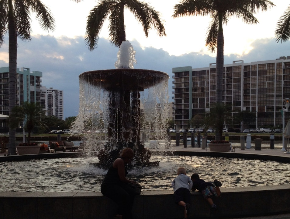 Time Out By The Fountain Hollywood Florida United States