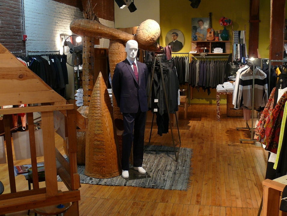 Designer Styles in Hayes Valley San Francisco California United States