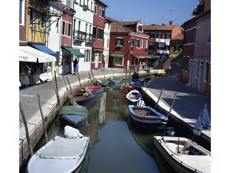 View From a Burano Bridge