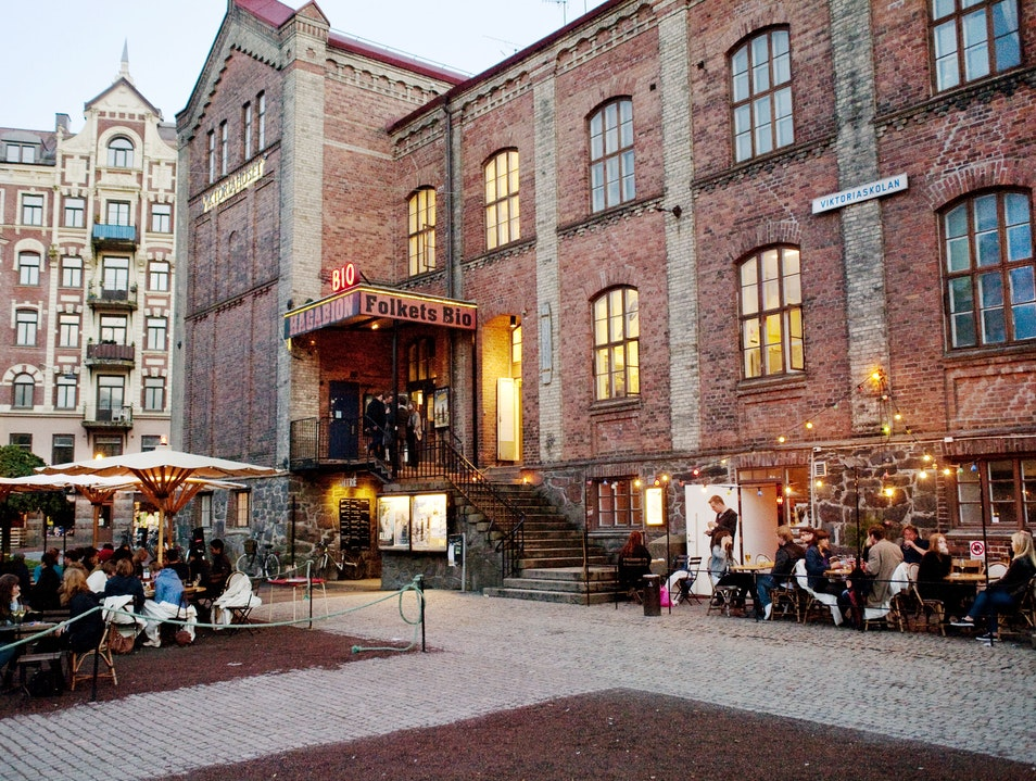 Craft Beer, Movies, and Veggie Fare Gothenburg  Sweden