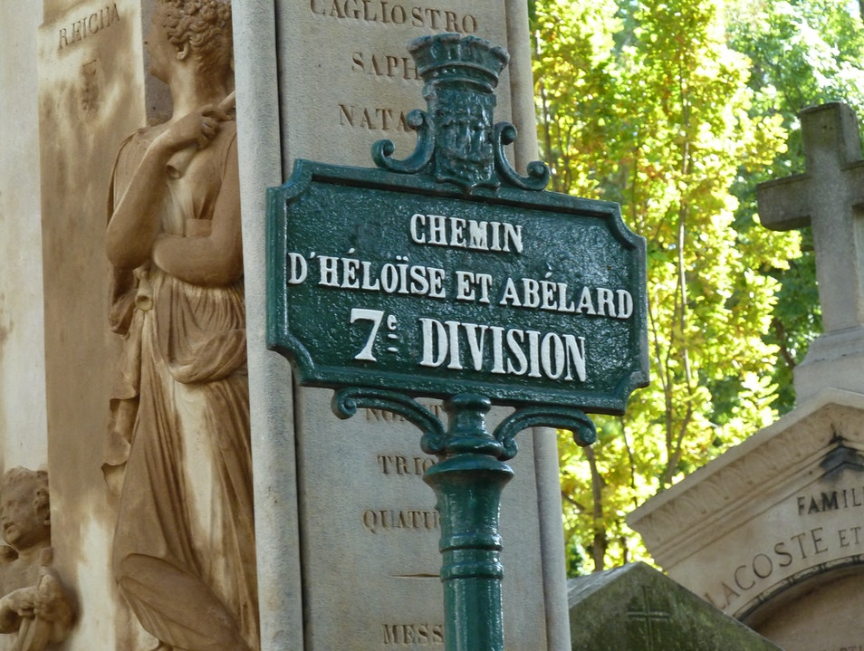Together in Death at Pere Lachaise Cemetery
