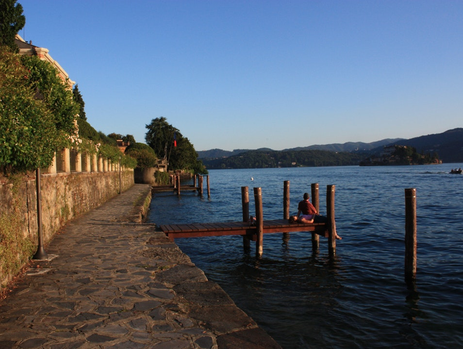 Day Trip to Tourist-Free Lake Orta Pettenasco  Italy