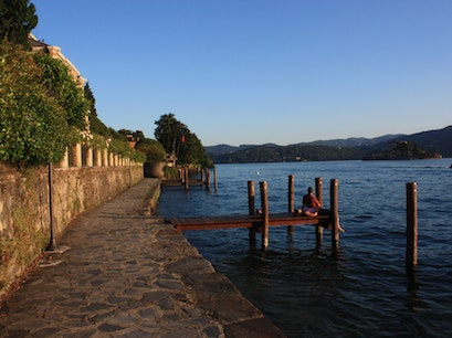 Lake Orta Pettenasco  Italy
