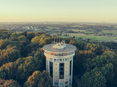 Rotating Tower Belvedere Aachen  Germany