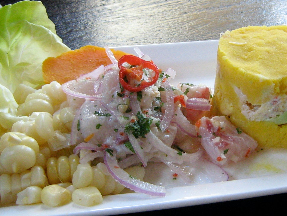 Peruvian Bistro Fare from Gaston Acurio Lima  Peru