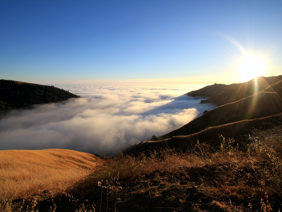 Cloud Cover Big Sur California United States
