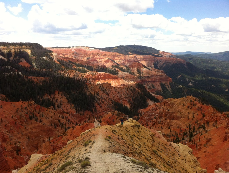 The View from Cedar Breaks National Monument Brian Head Utah United States