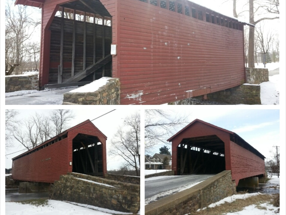 Covered Bridge Driving Tour  Rocky Ridge Maryland United States