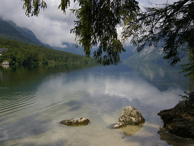 Lake Bohinj where nothing but the seasons change