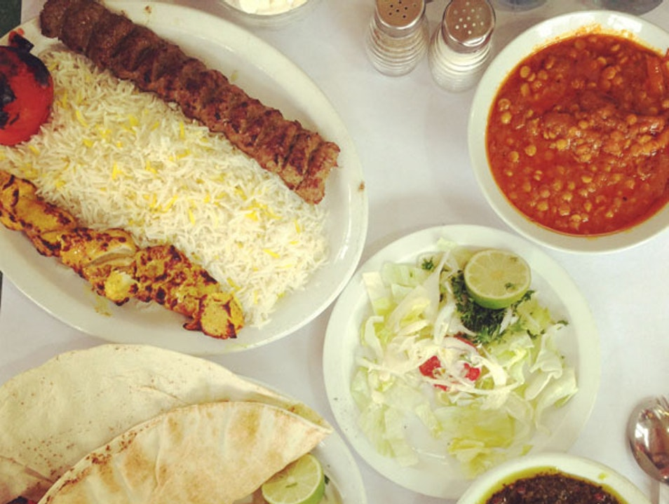 Unexpected Persian feast