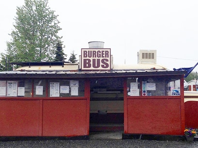 The Burger Bus Kenai Alaska United States
