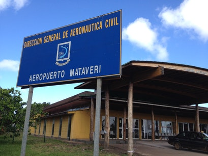 Mataveri International Airport Isla de Pascua  Chile
