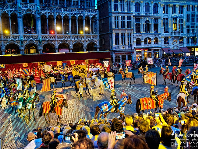 Ommegang—Brussels' Dramatic Historic Medieval Pageant