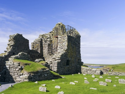 Jarlshof Prehistoric Settlement Sumburgh  United Kingdom