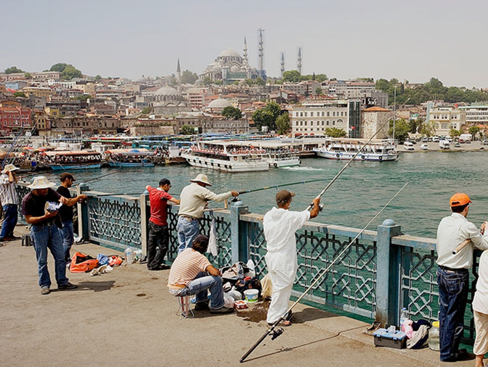 A Bridge with a View Istanbul  Turkey