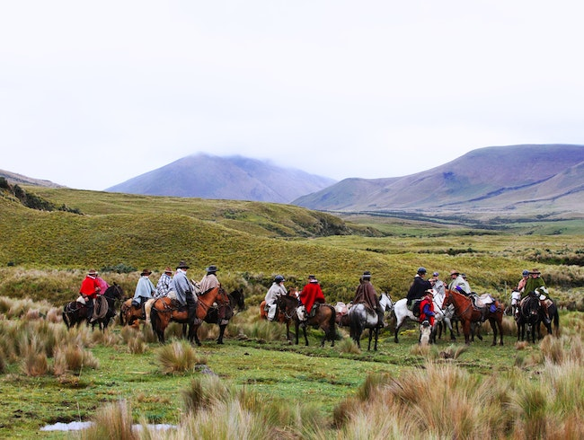 Ride Amongst Ecuador Cowboys with Tierra del Volcán
