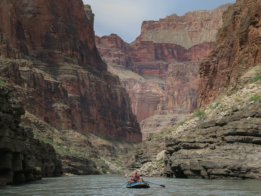 Less than 1 percent of annual visitors to Grand Canyon National Park ever venture below the rim.