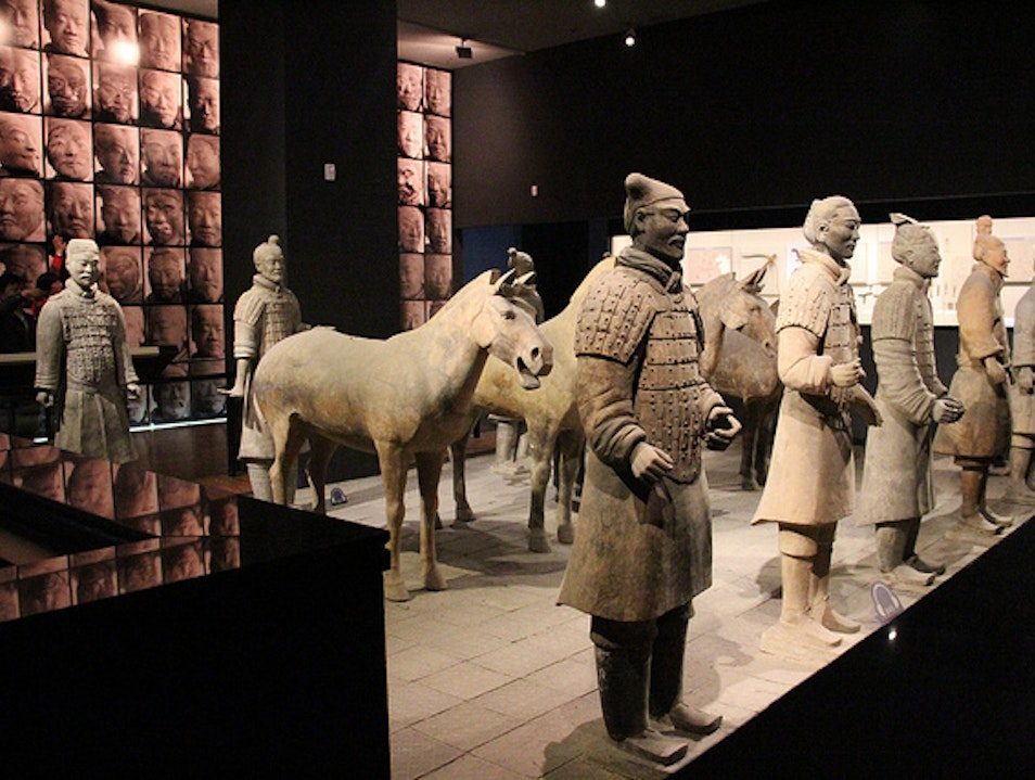 Shaanxi's Rich Collection of Cultural Relics Xi'an  China