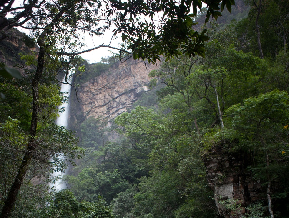 Salto do Itiquira Planaltina de Goiás  Brazil