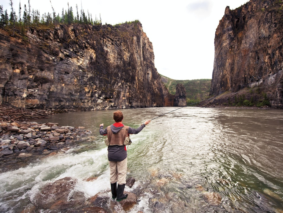 Gone Fishing in the Northwest Territories
