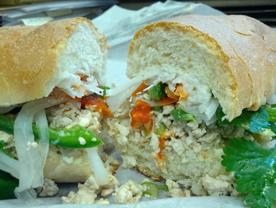 Delicious Banh Mi-Inspired Sandwiches at Rook