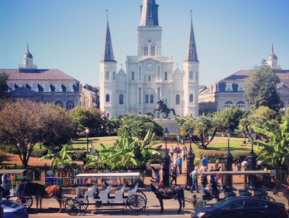 Take a Stroll in Jackson Square New Orleans Louisiana United States