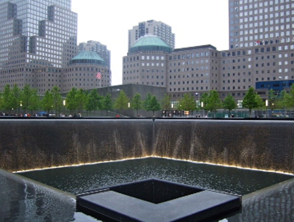 The North Tower Reflecting Pool New York New York United States