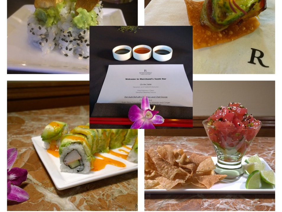 The Vinoy's Sushi and Sake: BEST in town.