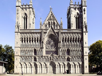 Nidaros Cathedral Trondheim  Norway