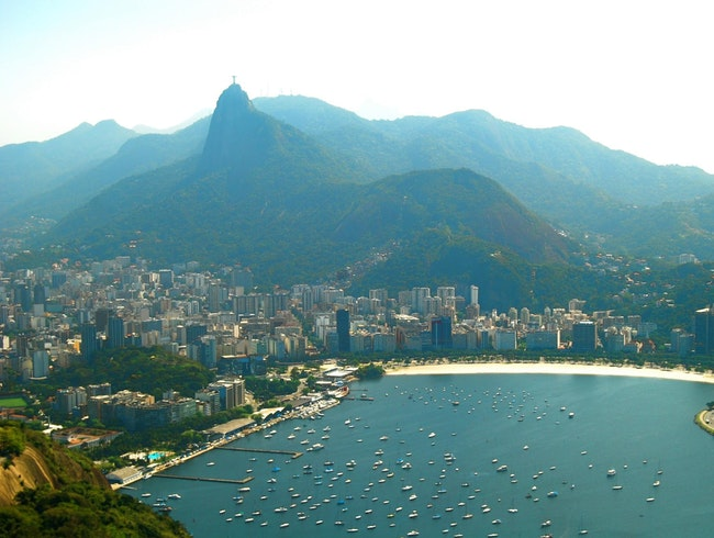 Viewing Rio from the Top