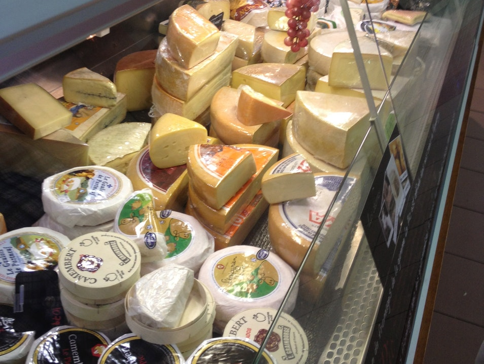 Cheese. So much cheese. Montreal  Canada