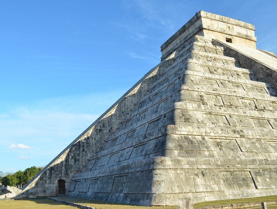 Descent of the Feathered Serpent at Chichen-Itza Tinum  Mexico