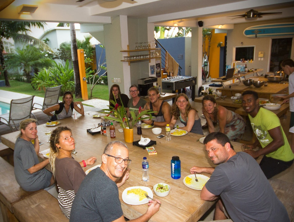 Purpose built surf camp in cabarete