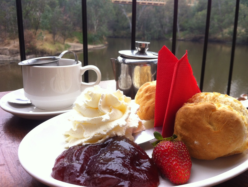 Scones By The Yarra. Fairfield  Australia
