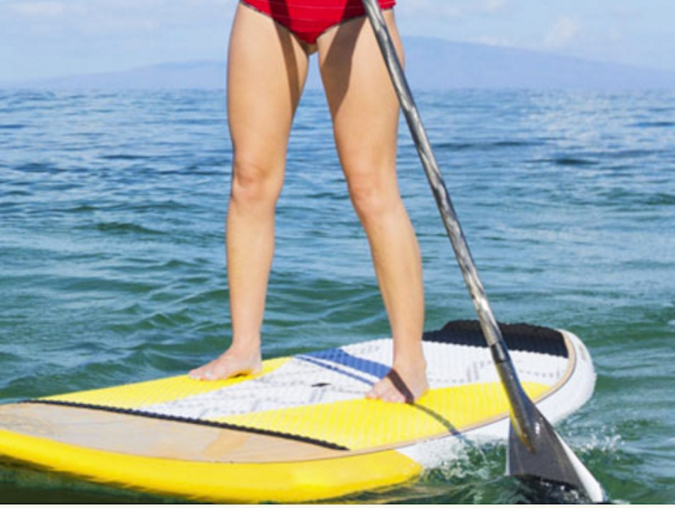 Stand up paddle board  Laguna Beach California United States