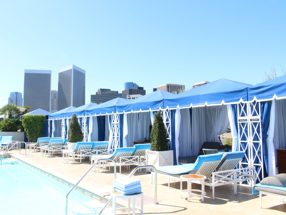 Savor An Endless Summer At The Peninsula's Cabanas  Beverly Hills California United States