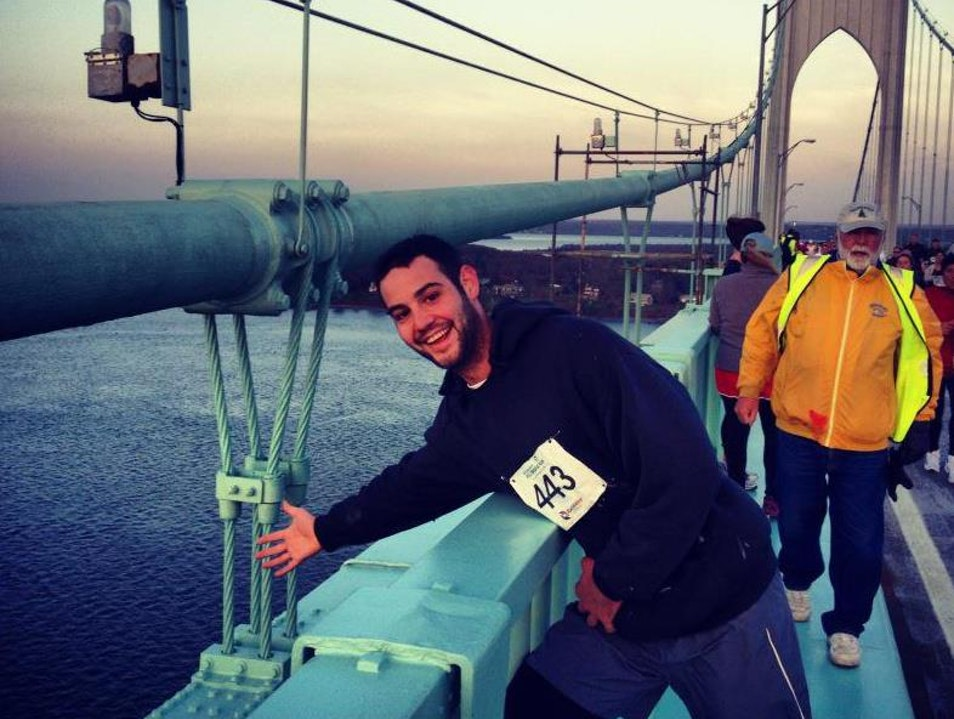 The Newport Bridge Run/Walk Jamestown Rhode Island United States