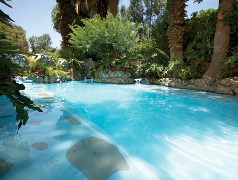 Pure Bliss at Two Bunch Palms Desert Hot Springs California United States