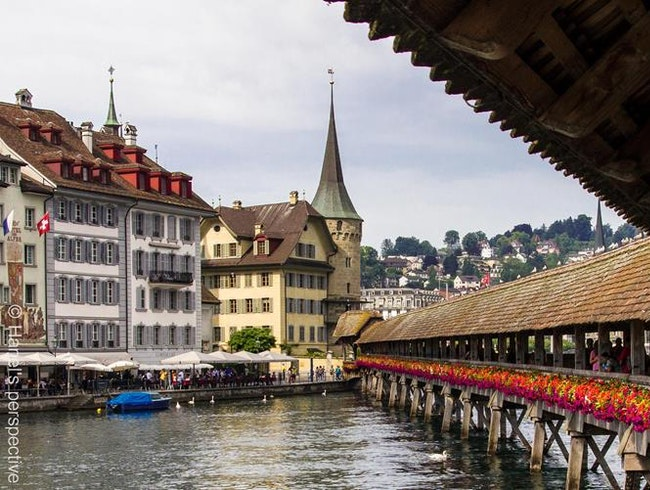 Chapel bridge at the Reuss, Lucerne - enjoy history and ambience