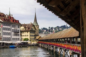 Chapel Bridge; Lucerne