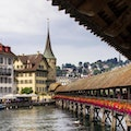 Chapel Bridge; Lucerne Lucerne  Switzerland
