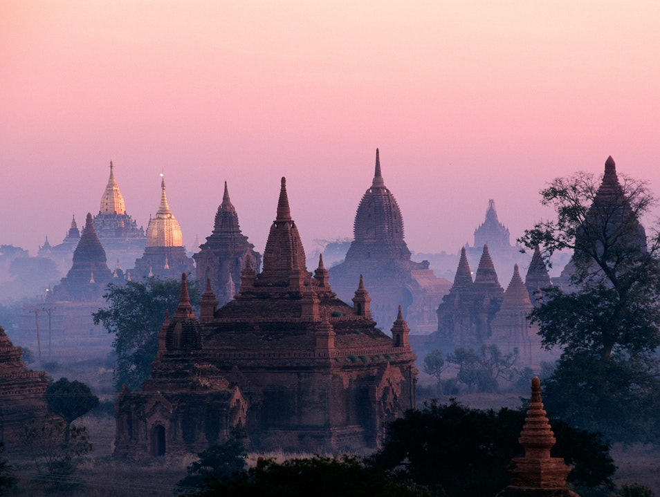 Burma of old: temples and pagodas  Mandalay  Myanmar