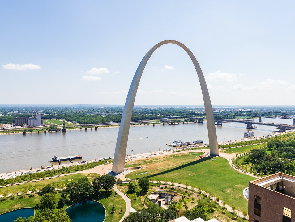 Gateway Arch National Park  Missouri United States