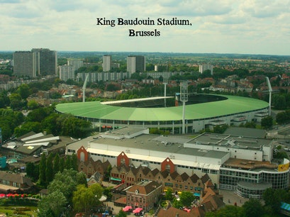 King Baudouin Stadium Brussels  Belgium