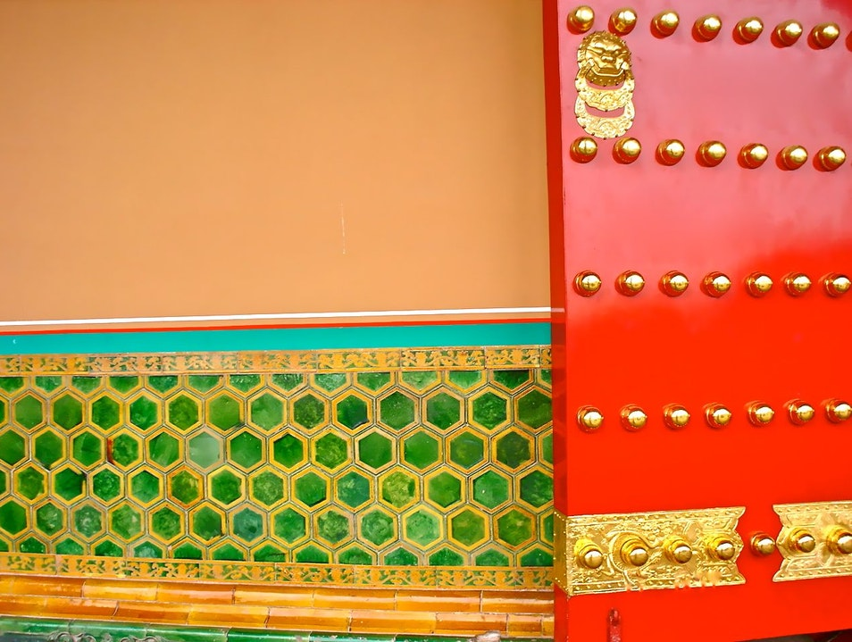 The Color Palette of the Forbidden City - Beijing, China Beijing  China
