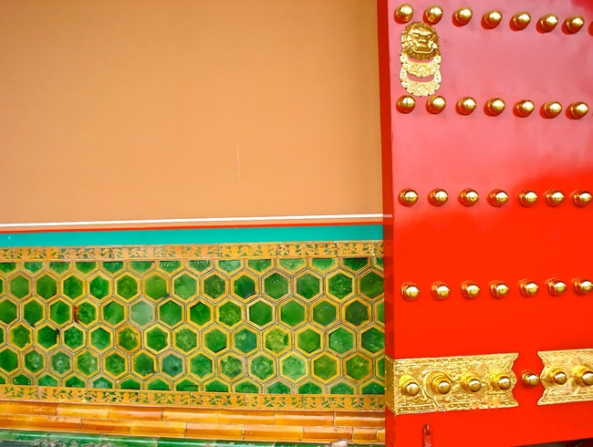 The Color Palette of the Forbidden City - Beijing, China