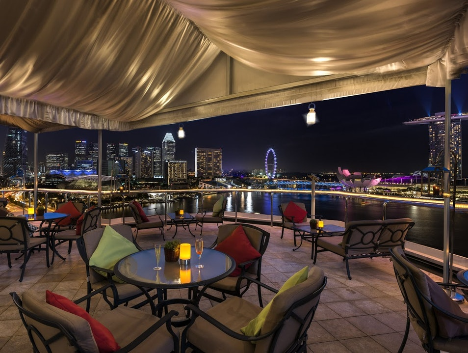 A Secluded Rooftop Bar Experience