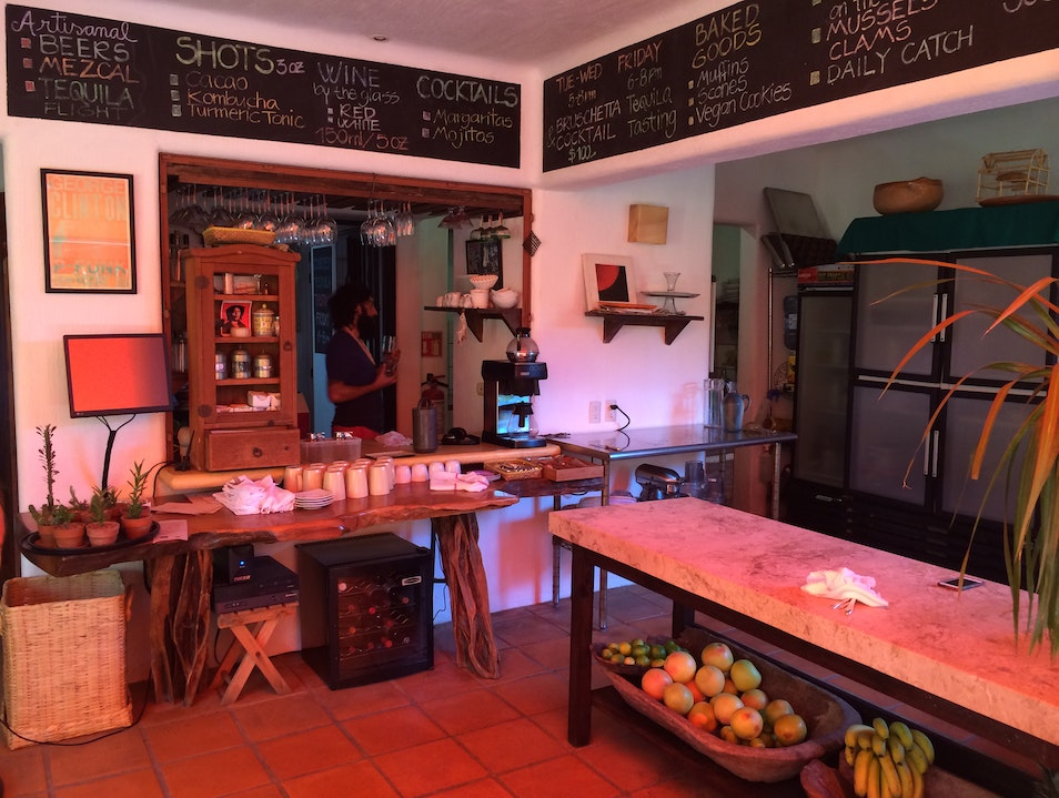 Organic cuisine in the heart of a mexican beach town San Francisco  Mexico